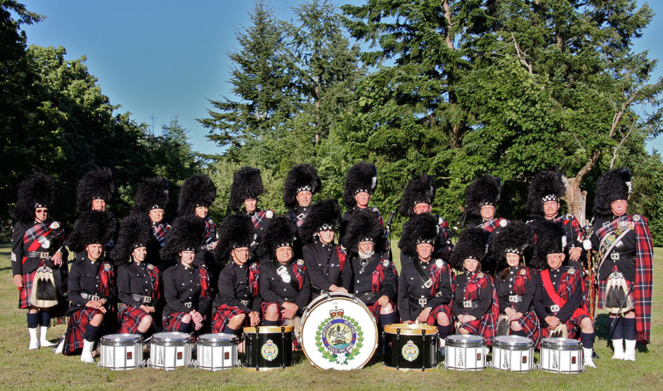 Greater Victoria Police Pipe Band